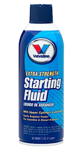 Valvoline Extra Strength Starting Fluid